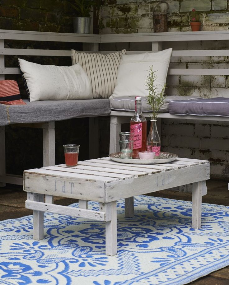 Rustic Coffee Table | Old Wooden Apple Crate | Hester van Overbook's Furniture Hacks | CICO Books | Reclaimed | urban Garden | Warehouse Home Design Magazine