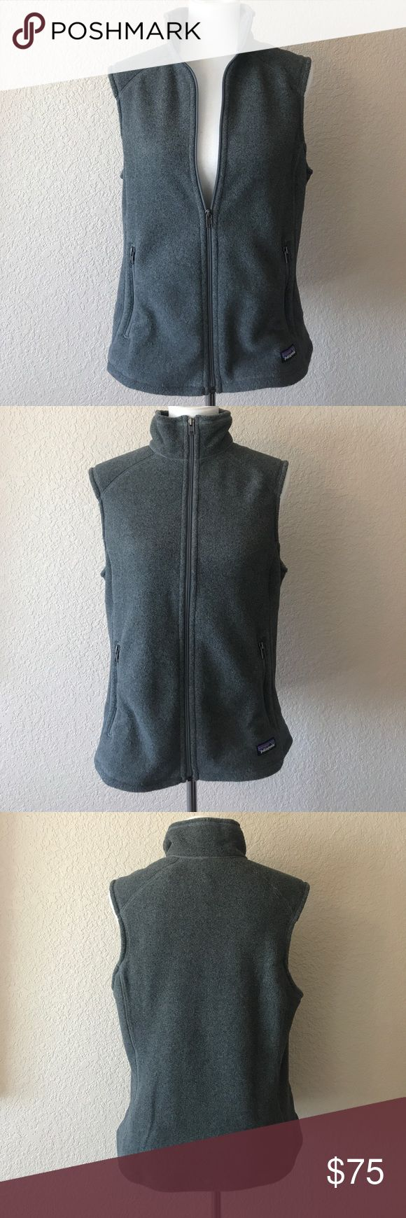 """Patagonia Synchilla Vest Patagonia women's Synchilla Vest. NWT. Non smoking home. Shoulder to hem 25"""". Pit to pit is 20"""". Patagonia Jackets & Coats Vests"""