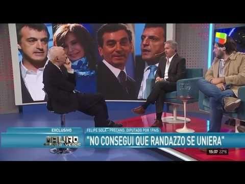 """Felipe Solá, tras la candidatura de Cristina: """"Actúa como una reina"""""""