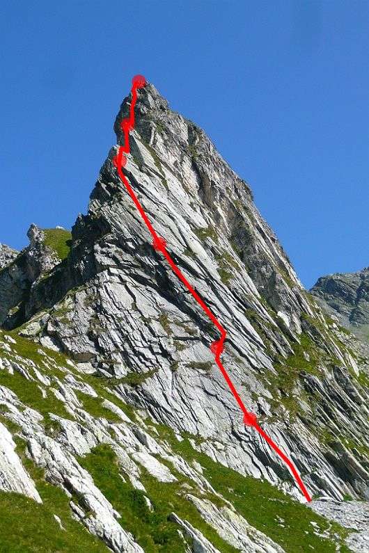 Col de Grand St. Bernard - Escalade: Petit Cervin - Charlie