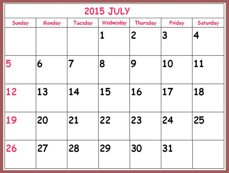 This is the month of June 2015 and we are sharing June Calendar 2015 Printable Template. You can also download June 2015 Calendar With Holidays from here.