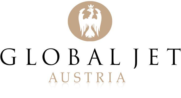 Global Jet Austria Logo. (AUSTRIAN).