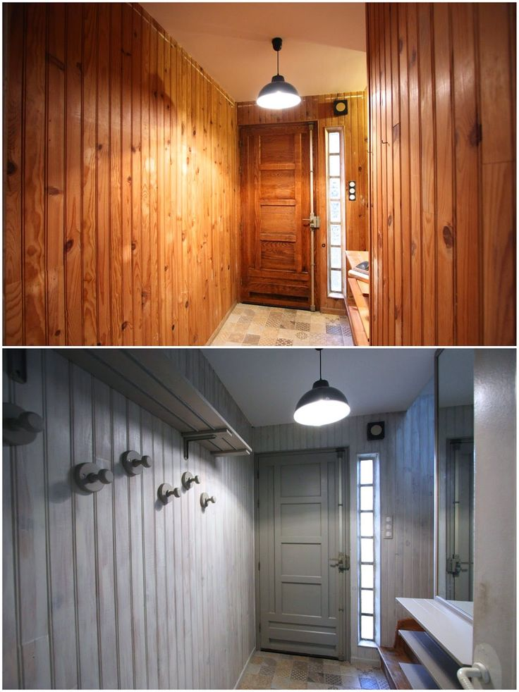 les 25 meilleures id es de la cat gorie lambris peint sur pinterest peindre des panneaux. Black Bedroom Furniture Sets. Home Design Ideas