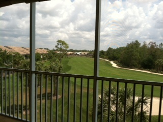Social Membership Available in this Private Golf Course Community.  3rd floor, 2bed/2bath/extra storage on same floor/carport.  Glen Eagle Golf Course, Naples, FL.