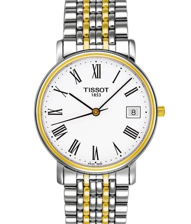 Tissot T52248113 Silver-Gold Stainless Steel Watch, http://www.snapdeal.com/product/tissot-t52248113-silvergold-stainless-steel/1433162