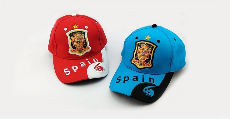 Spain soccer Team Hats //Price: $16.33 & FREE Shipping //