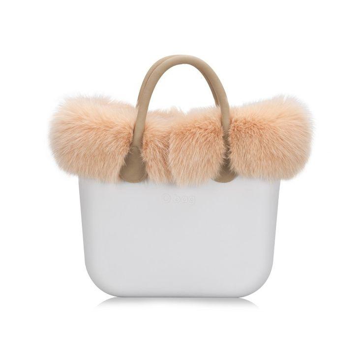 O bag mini | Bordo in Pelliccia - O bag mini - O bag