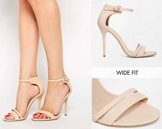 The ASOS Hostess Wide-Fit Heels | 31 Legitimately Cute Shoes For Ladies With Wide Feet