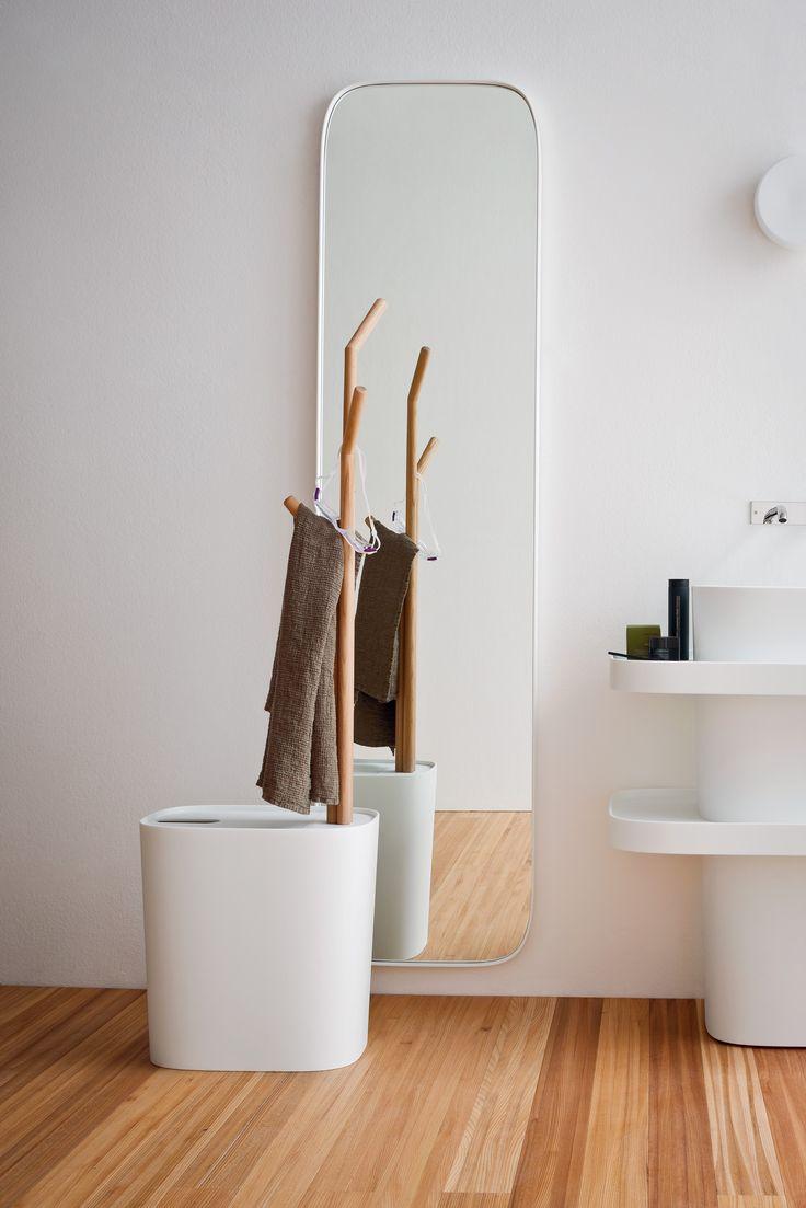 Coordinating shapes - Fonte, design by Monica Graffeo #rexa #design #bathroom…