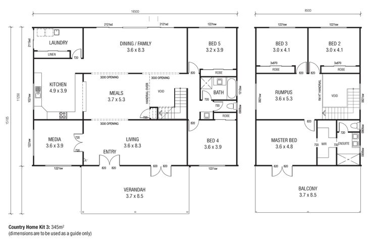 Homes 3 Floor Plans Like The Plan But Could Do With Some Tweaks To Bottom