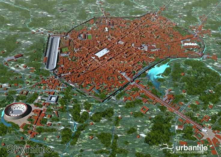 #Milano romana - #Mediolanum | Rendering