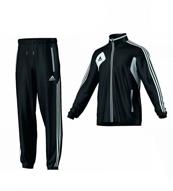 DeinDeal - Sport - Trainingsanzug schwarz 6-M