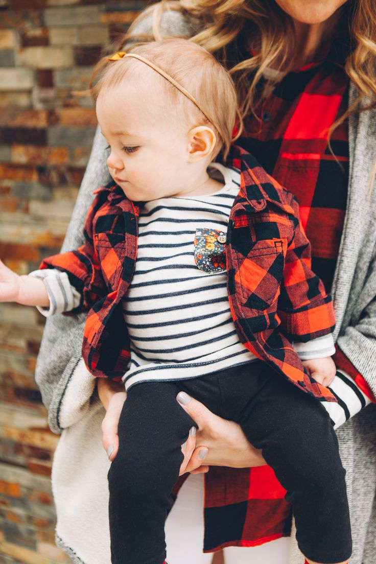 Buffalo Check Mini Style by Modern Eve #beckettelizabeth