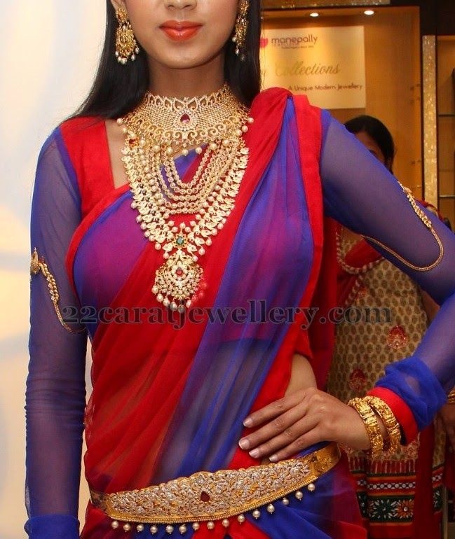 Jewellery Designs: Harathi Honey Bridal Jewelry