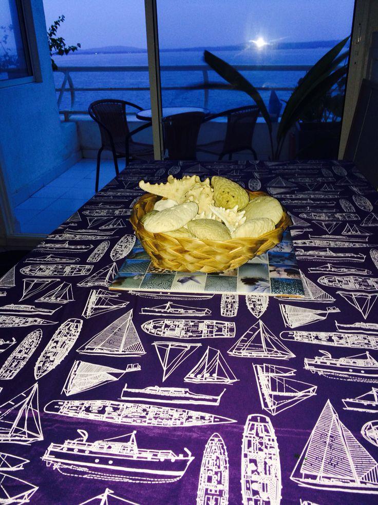 Tablecloth coastal