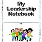 These pages can be used in your students' Leadership Notebooks or Data Notebooks as part of the Leader in Me program.  I also include a page for Te...