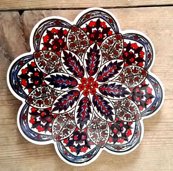ON SALE Turkish hand made ceramic hot plate / ceramic by Turqu50