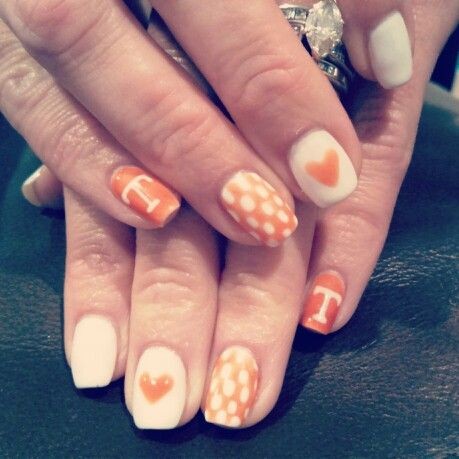 Tennessee vols nails