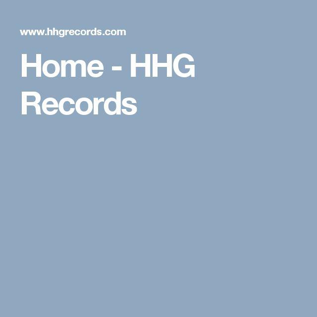 Home - HHG Records