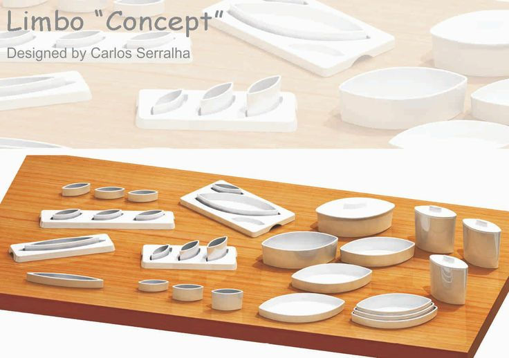 Limbo Porcelain by Designer Carlos Serralha