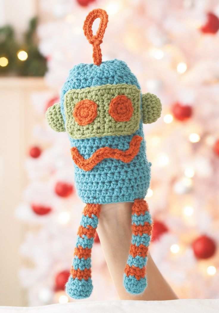 Loops & Threads? Impeccable Robot Puppet (Crochet) Free ...