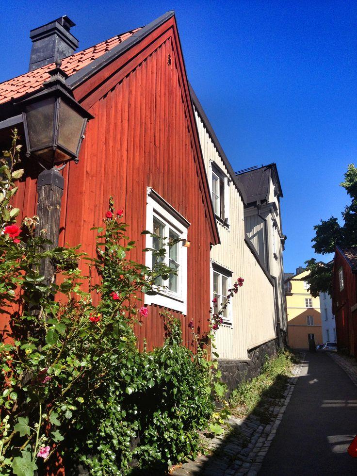Swedish house in Djurgården Stockholm