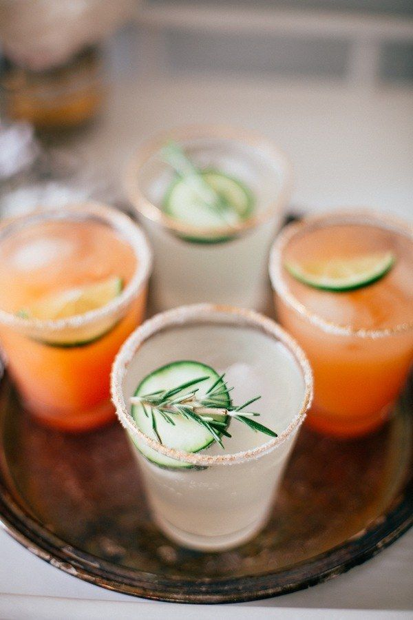 Easy Tequila Spritzers with Grapefruit Juice or Lime