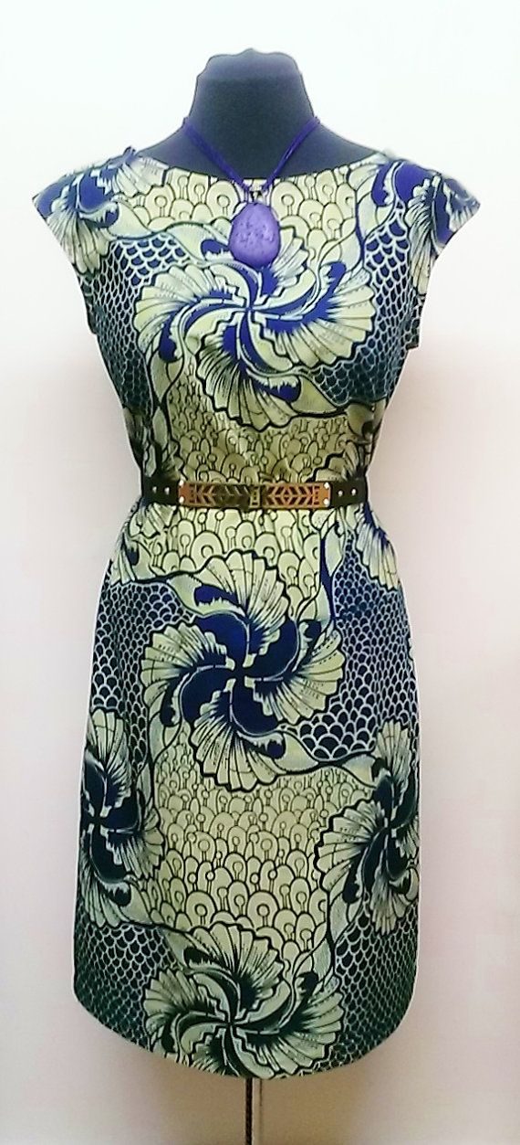 Hey, I found this really awesome Etsy listing at https://www.etsy.com/listing/170875365/african-ankara-print-shift-dress