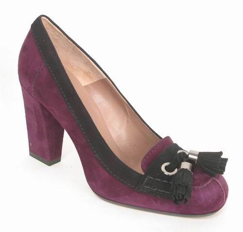 c27326 Via Costantina Leder Pump violett Gr 38