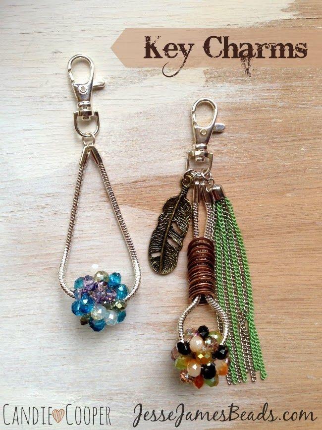 962a49cc72792d Make Tassel Jewelry | Cool KEYCHAINS | Diy beaded key rings, Tassel jewelry,  Boot jewelry