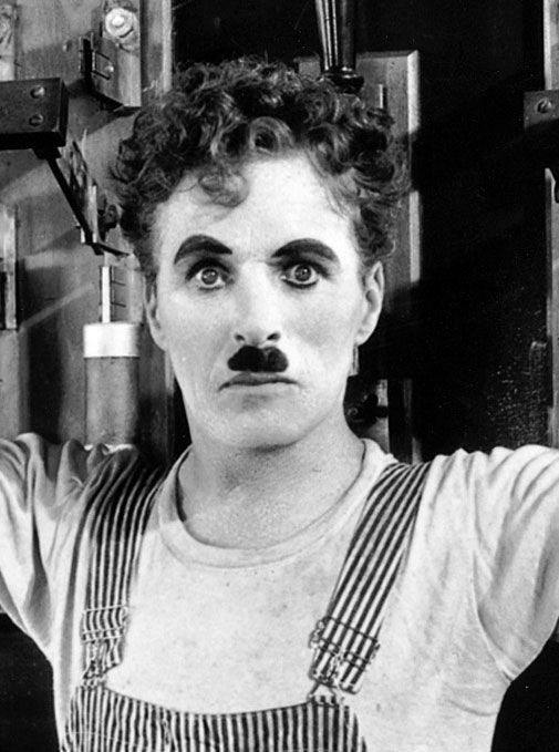 heck no! He was a stunner! :D  ashleynjohnston:  fuckyeahchaplin:  Charlie in Modern Times  Am I the only person who thinks Chaplin is hot?