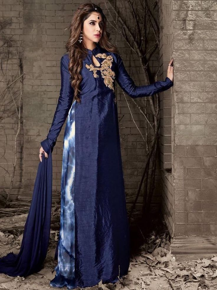 #Bollywood #Designer #Latest Attractive Party wear Indian Pakistani Long #Dress #Handmade #SalwarKameez