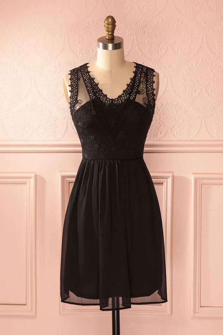 147 best la petite robe noire images on pinterest dress black little black dresses and petite. Black Bedroom Furniture Sets. Home Design Ideas