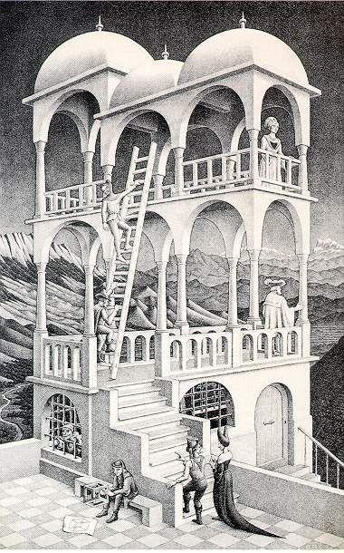 m.c. echer: Belvedere