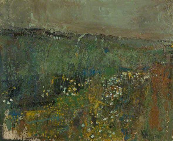 Your Paintings - Joan Kathleen Harding Eardley paintings corn, feverfew