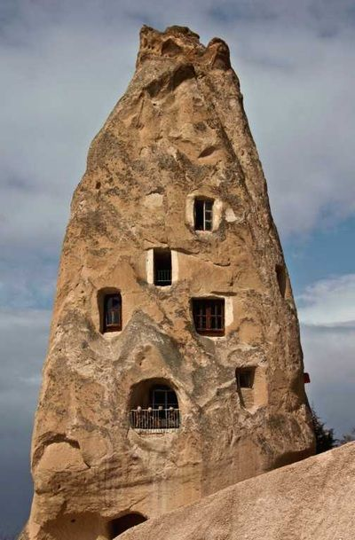 Uchisar Castle and Village - Tour Maker Turkey - Cappadocia