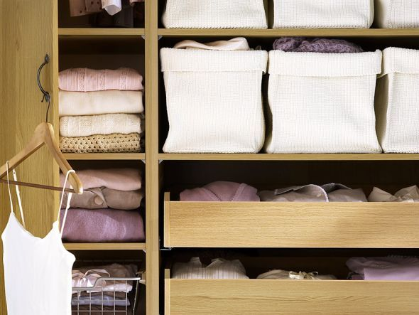 Luxury Mehr Stauraum im Kleiderschrank