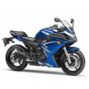 Yamaha FZ6R - imagine the wind blowing thru your hair and on your face - yeah!