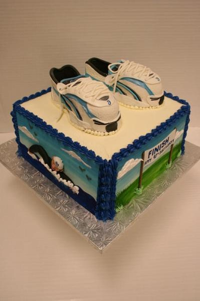 Ironman Triathlon Cake Ideas