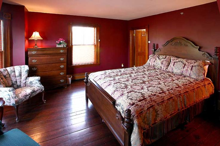 This Is The Dark Red Color Of Our Bedroom Should Our
