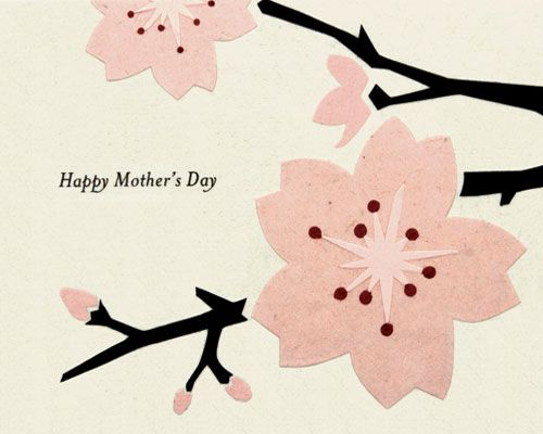 "Happy Mother's Day Card - Philippines - This ""Mother's Day"" card is lovingly handcrafted in the Philippines by women survivors of sex trafficking. The card incorporates a variety of handmade, recycled papers, making it environmentally sustainable, too."