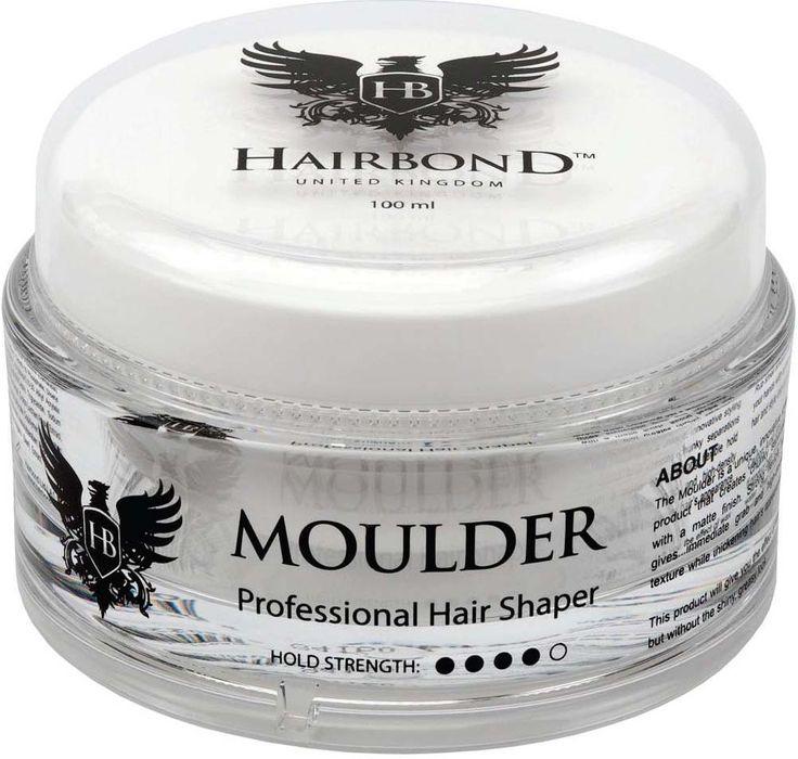O Moulder é um produto de um estilo único, inovador, que cria separações pedaços com um acabamento fosco.Fixação flexível dá garra imediata e textura de alta densidade, enquanto a aparência do cabelo espessamento.