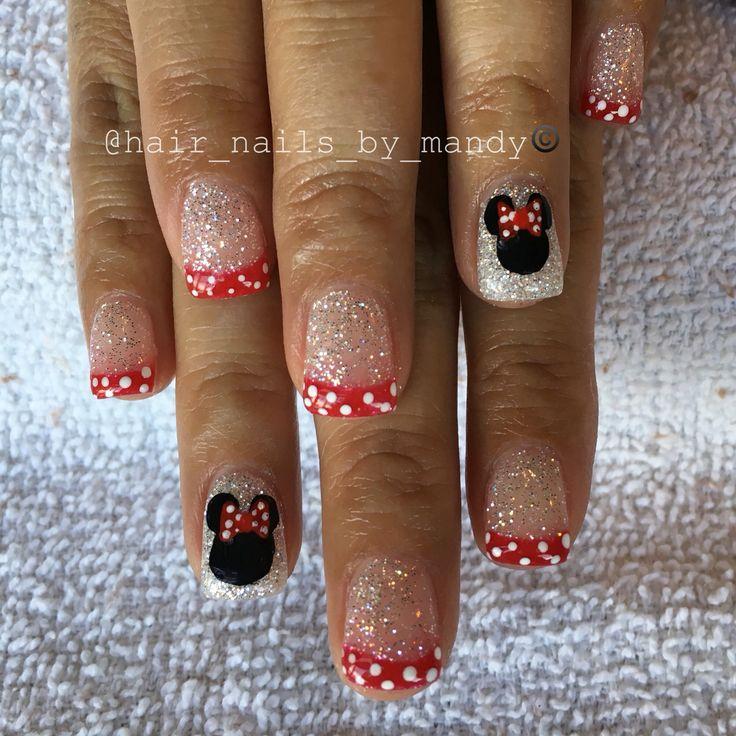 Best 25+ Disney gel nails ideas on Pinterest | Disney manicure, Disneyland  nails and Easy disney nails - Best 25+ Disney Gel Nails Ideas On Pinterest Disney Manicure