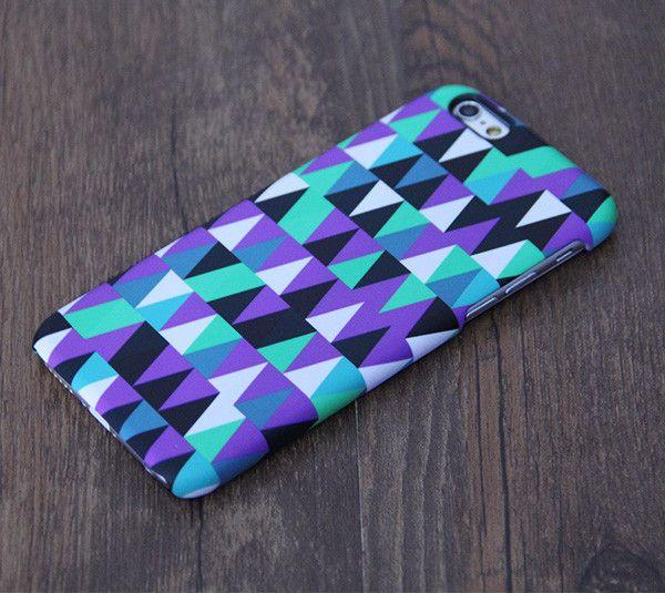Stylish Violet Geometric Pattern iPhone 6 Case/Plus/5S/5C/5/4S Case – Acyc