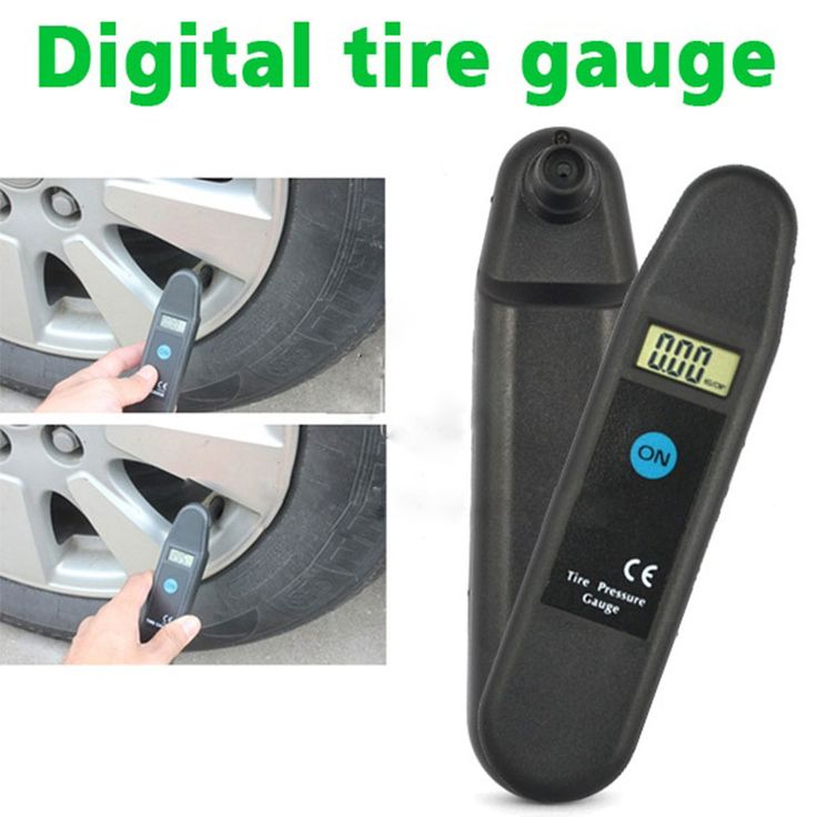 Digital LCD Display Accuracy Wheel Tire Air Pressure Gauge Tyre Tester Vehicle Motorcycle Car 5-150 PSI/KPA/BAR/KG/CM2 Detector <3 Details on product can be viewed by clicking the image