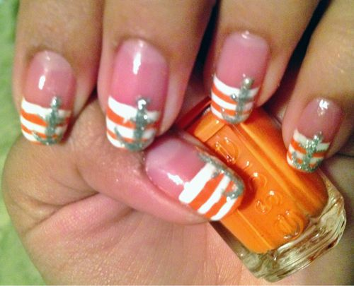 The 25 best sailor nails ideas on pinterest nautical nails nail art with gems ideas viewing gallery prinsesfo Image collections