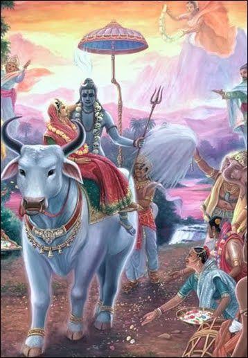 Nandishwara and Shiva