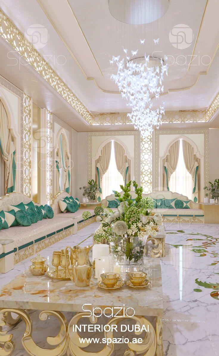 Arredare Casa Stile Marocco majlis interior design in dubai | luxury house interior