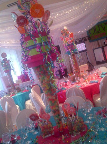 Candy Theme Bat Mitzvah by DM EVENTS & DESIGN Call us and see what we are all about! www.dmeventsanddesign.com / 954-214-3949