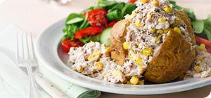 Tuna & Sweetcorn Jacket Potato Filling